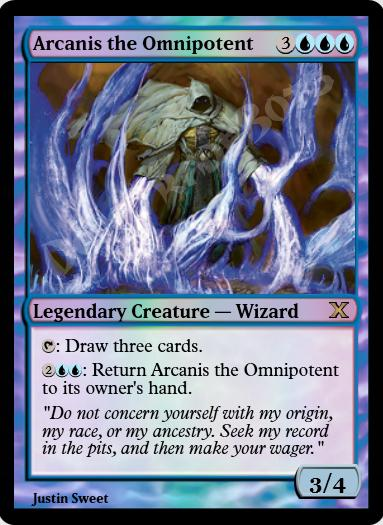 Arcanis the Omnipotent FOIL