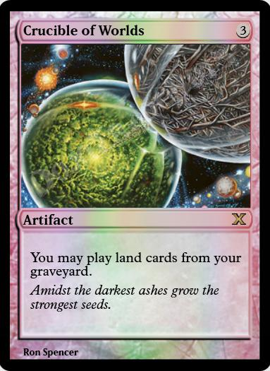 Crucible of Worlds FOIL