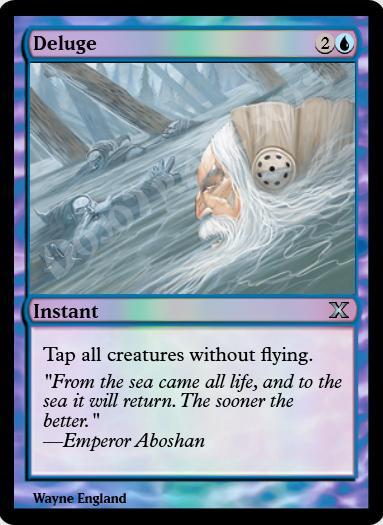 Deluge FOIL