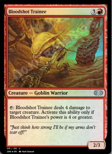 Bloodshot Trainee FOIL