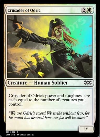 Crusader of Odric FOIL
