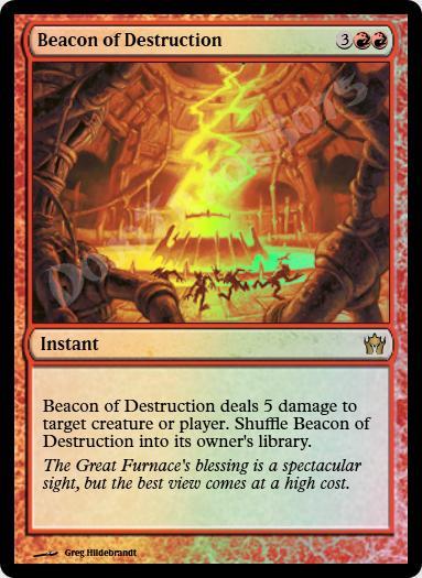 Beacon of Destruction FOIL