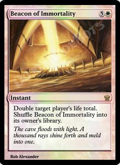 Beacon of Immortality FOIL