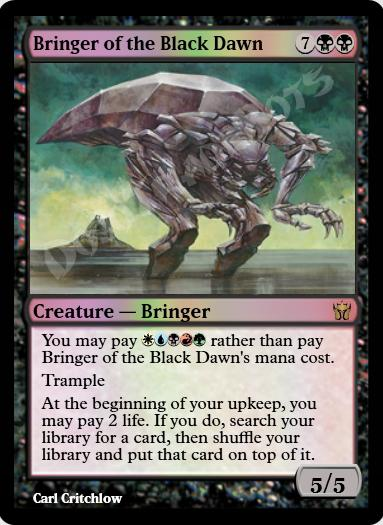 Bringer of the Black Dawn FOIL