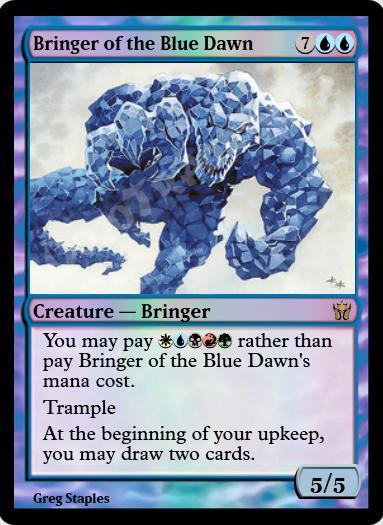 Bringer of the Blue Dawn FOIL