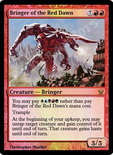 Bringer of the Red Dawn FOIL