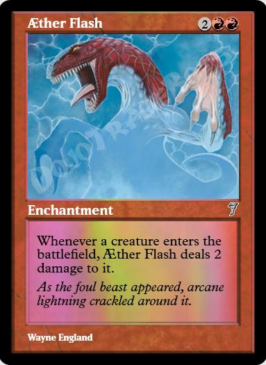 Aether Flash FOIL