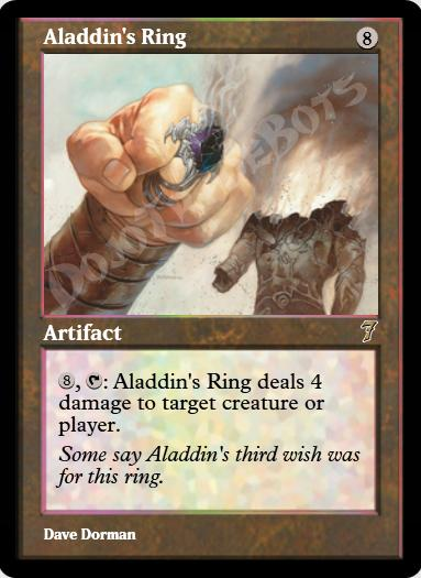 Aladdin's Ring FOIL