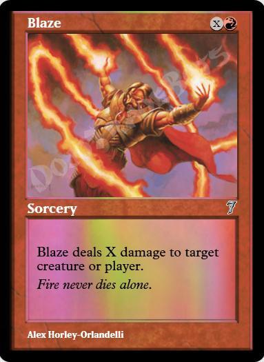 Blaze FOIL