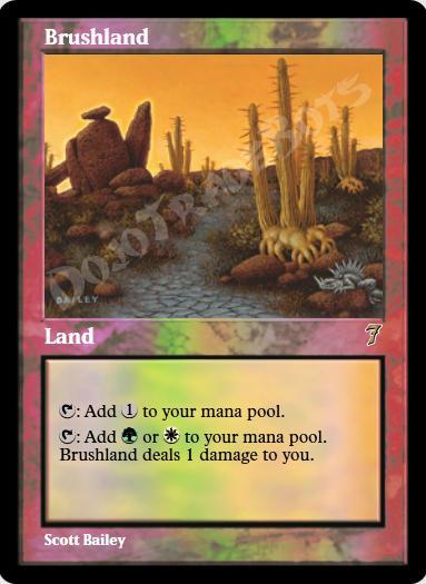 Brushland FOIL
