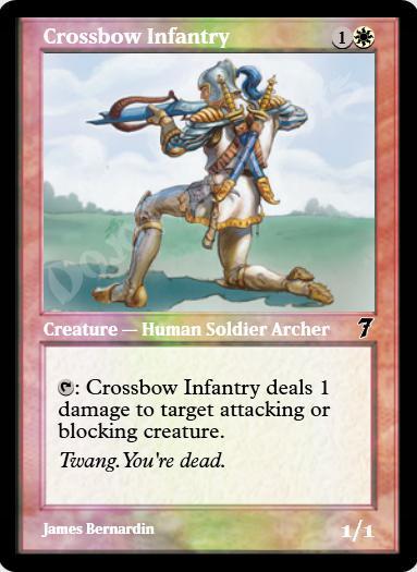 Crossbow Infantry FOIL