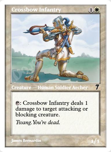 Crossbow Infantry
