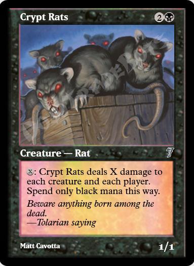 Crypt Rats FOIL