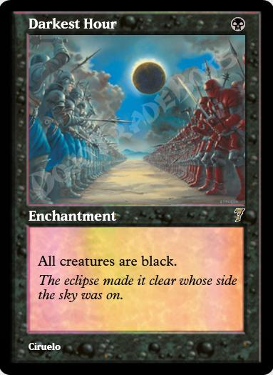 Darkest Hour FOIL