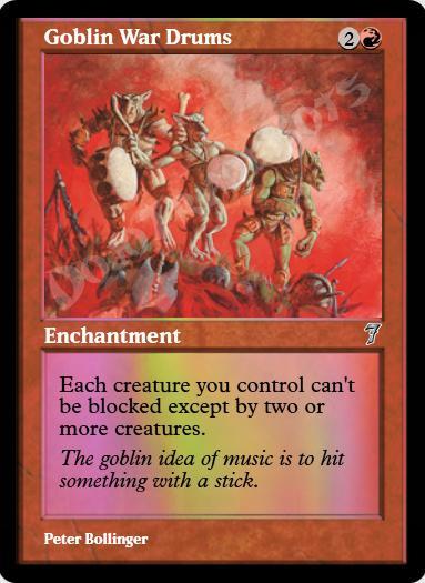 Goblin War Drums FOIL