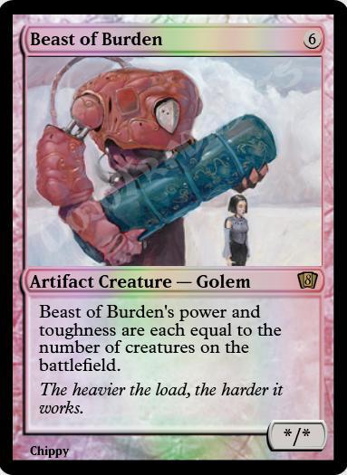 Beast of Burden FOIL