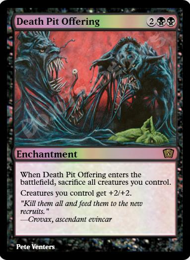 Death Pit Offering FOIL