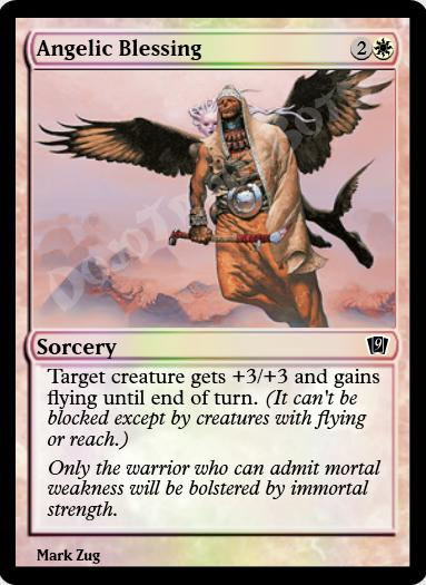 Angelic Blessing FOIL