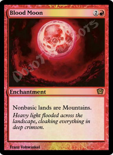 Blood Moon FOIL