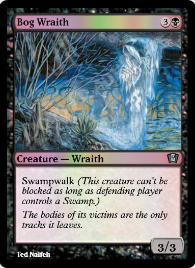 Bog Wraith FOIL