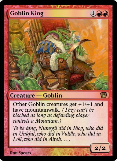 Goblin King FOIL