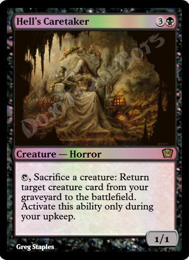 Hell's Caretaker FOIL