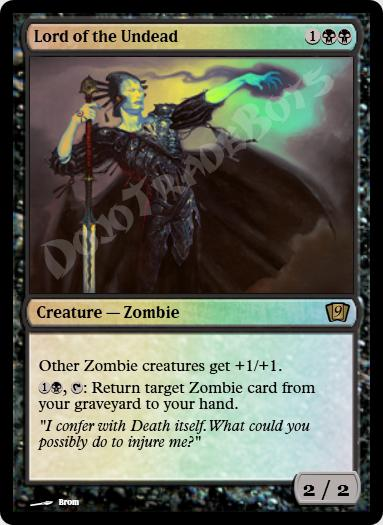 Lord of the Undead FOIL
