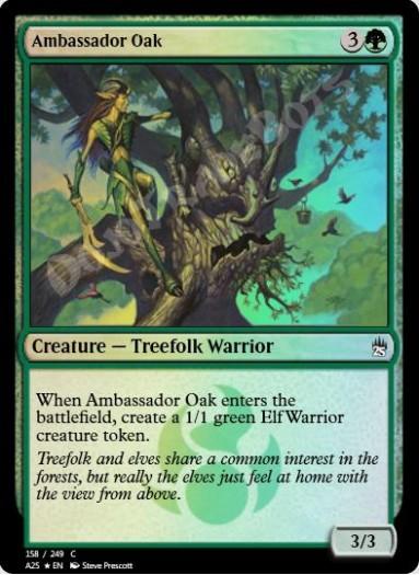 Ambassador Oak FOIL