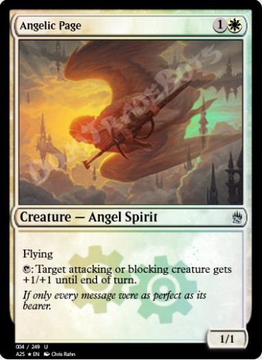 Angelic Page FOIL