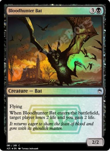 Bloodhunter Bat FOIL