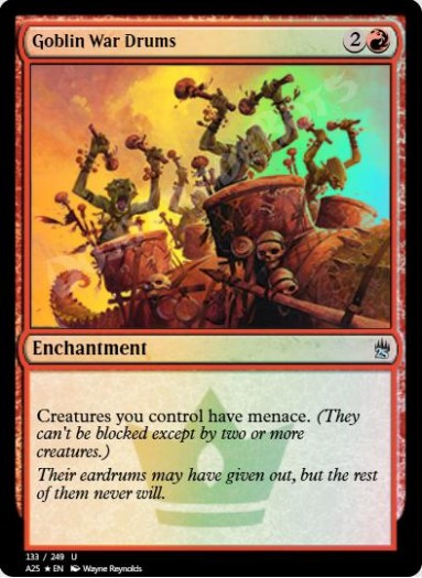 Goblin War Drums FOIL