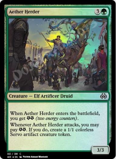 Aether Herder FOIL