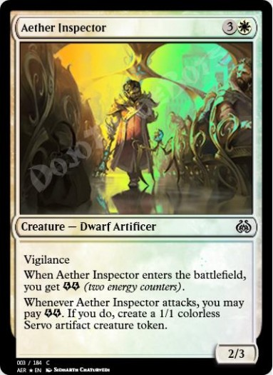 Aether Inspector FOIL