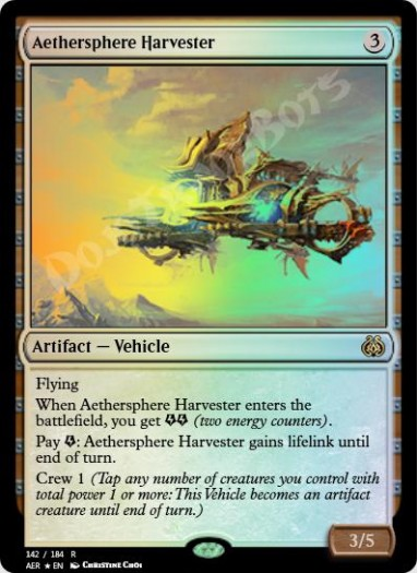 Aethersphere Harvester FOIL