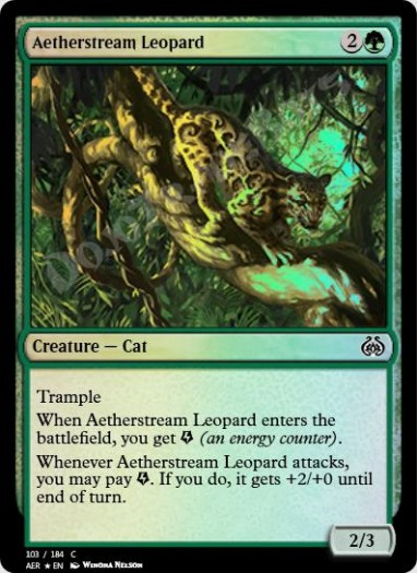 Aetherstream Leopard FOIL