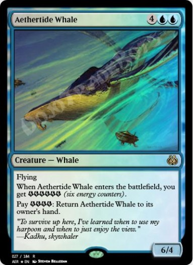Aethertide Whale FOIL