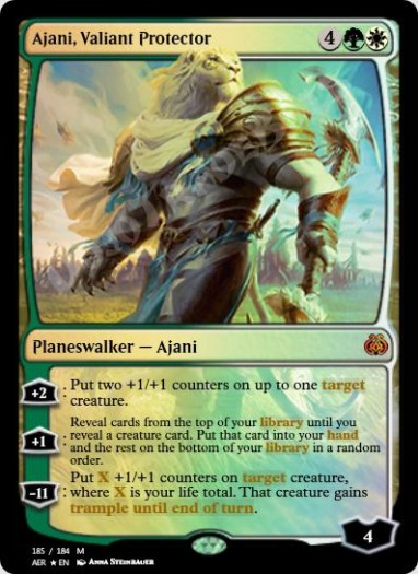 Ajani, Valiant Protector FOIL