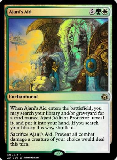 Ajani's Aid FOIL