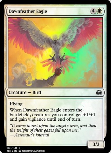 Dawnfeather Eagle FOIL