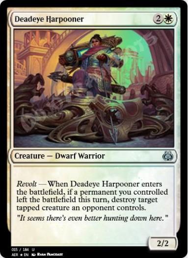 Deadeye Harpooner FOIL