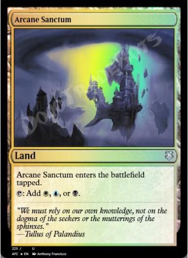 Arcane Sanctum FOIL