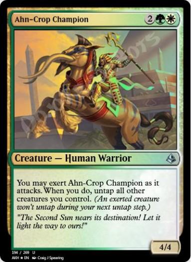 Ahn-Crop Champion FOIL