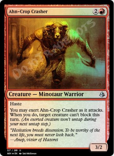 Ahn-Crop Crasher FOIL