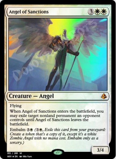 Angel of Sanctions FOIL