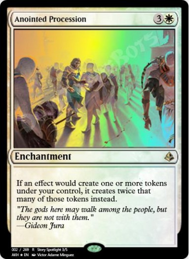 Anointed Procession FOIL