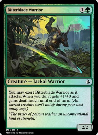 Bitterblade Warrior FOIL