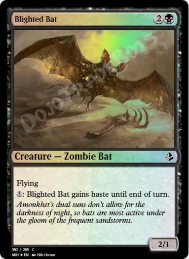 Blighted Bat FOIL