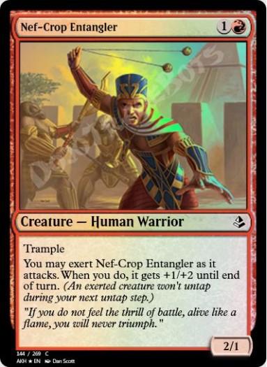 Nef-Crop Entangler FOIL