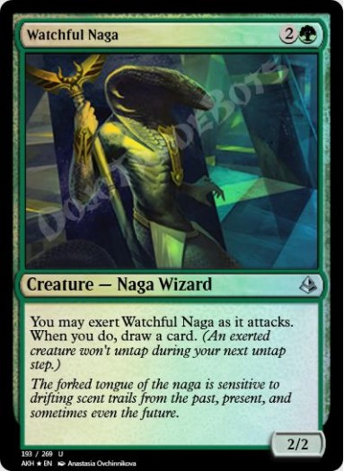 Watchful Naga FOIL