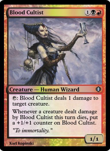 Blood Cultist FOIL